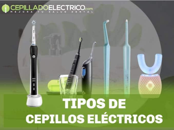 tipos de cepillos eléctricos