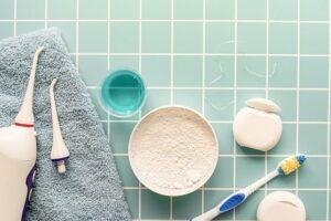 Irrigador dental antes o después del cepillado