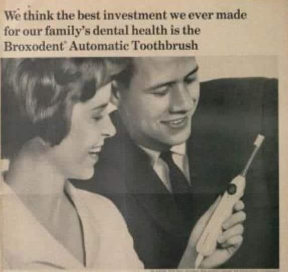 quien invento el cepillo de dientes electrico