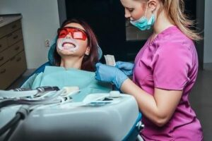 ¿Que es un blanqueamiento dental?